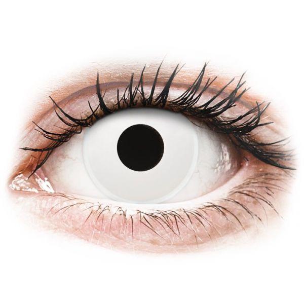 14de47d0c2184 Maxvue Vision Lentes de Contacto Coloridas com Correção ColourVUE Crazy  Lens Tom WhiteOut 2 lentes