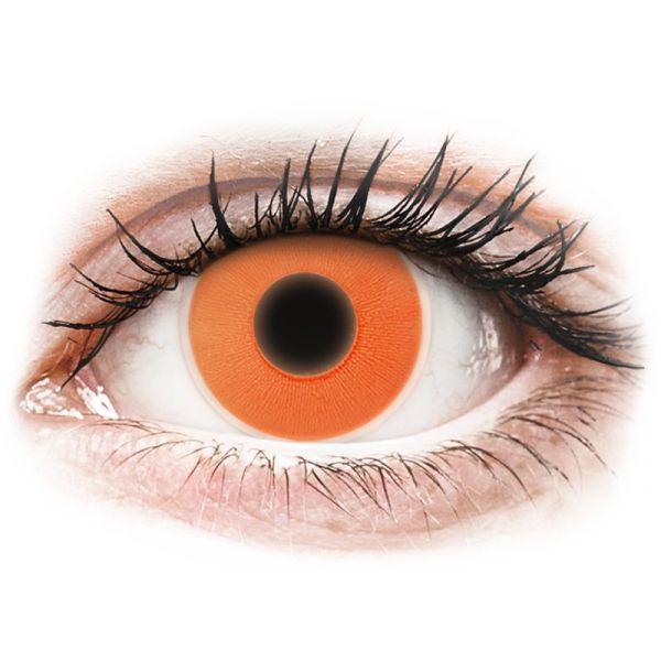 e4b4740904b72 Maxvue Vision Lentes de Contacto Coloridas sem Correção ColourVUE Crazy  Glow Tom Orange 2 lentes