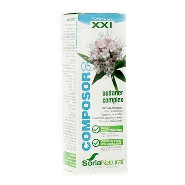 Soria Natural Composor-05 Sedaner Complex Formula XXI 50ml