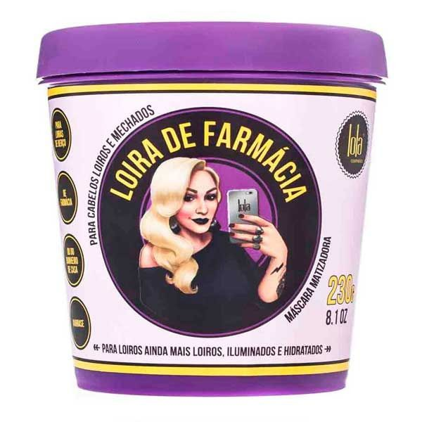 Lola Cosmetics Máscara Loira de Farmácia 230g