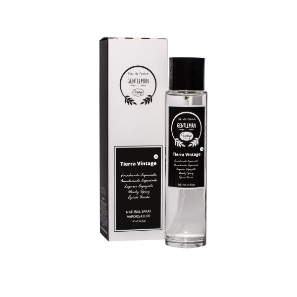 Vintage Perfume Homem Nº 16- Tierra 100ml (Original)