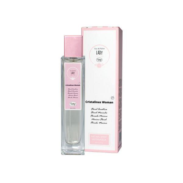 Vintage Perfume Mulher Nº 77- Cristalinas Woman 100ml (Original)