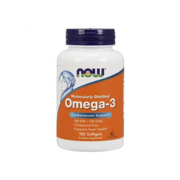 Now Omega-3 100 cápsulas