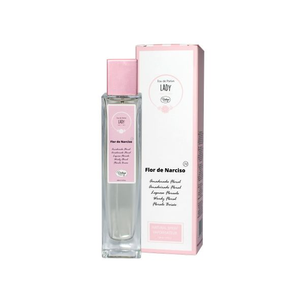Vintage Perfume Mulher Nº 51- Flor de Narciso 100ml (Original)