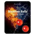 Secret Play Bolas Explosivas Brazilian Balls Efeito Calor/Frio x2