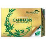 Phytogold Cannabis Óleo Das Sementes 1000mg 30 cápsulas