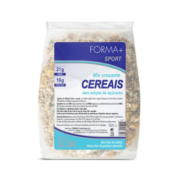 Forma+ Cereais Crocantes sem Açúcar Sport 500g