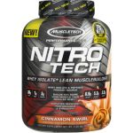 Muscletech NitroTech Performance Series 4lb 1814g Cheesecake de Brownie