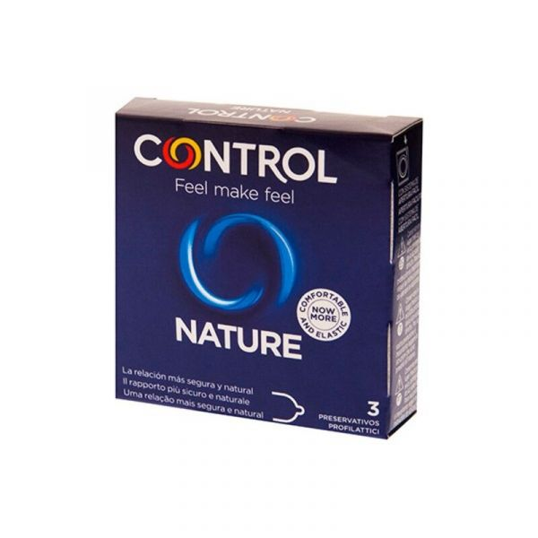Control Nature Preservativos 3 Unidades