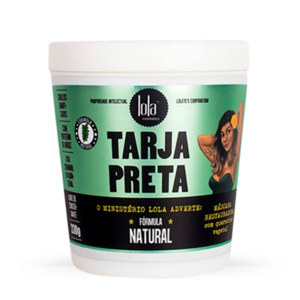 Lola Cosmetics Tarja Preta Máscara de Queratina Vegetal 230g