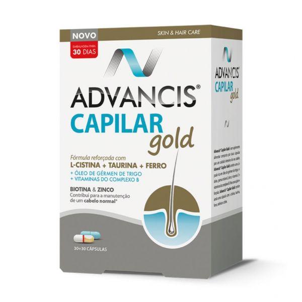 Advancis Capilar Gold 30+30 Cápsulas