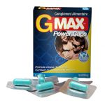 G-Max Potenciador Power Caps x5