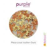 Purple Efeitos para Nail Art Louis Vuitton Ouro