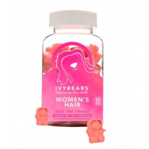 IvyBears Hair Vitamins for Women 60 Gomas