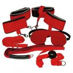 You2Toys Bad Kitty Kit Bondage Vermelho