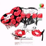 MJ Caixa Presente I Love You Champanhe