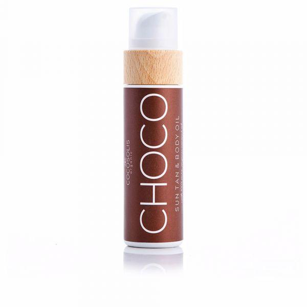 Cocosolis Organic Choco Sun Tan Óleo de Corpo 110ml