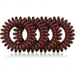 BrushArt Hair Rings Natural Elástico de Cabelo Catanho 4un