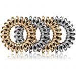 BrushArt Hair Rings Metal Elástico de Cabelo 4un
