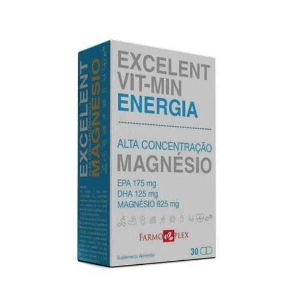 Farmoplex Excelent Vit-Min Energia 30 Cápsulas