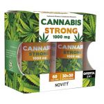 Novity Cannabis Strong 1000mg 30+30 Cápsulas