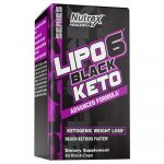 Nutrex Research LIPO-6 BLACK KETO 60 Caps