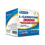Quamtrax L-Carnitina 3000mg 20 ampolas 25ml Pêssego
