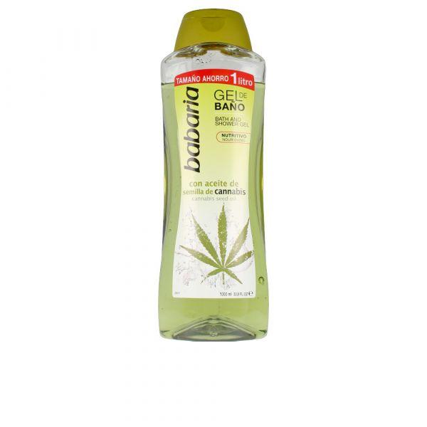 Babaria Gel de Banho com Óleo de Cannabis 1L