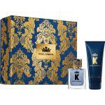 Dolce & Gabbana K EDT 50ml + Bálsamo After Shave 75ml Coffret