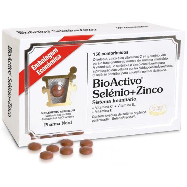 Pharma Nord Bioactivo Selénio + Zinco 150 Comprimidos