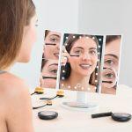 InnovaGoods Espelho LED de Aumento 4 em 1