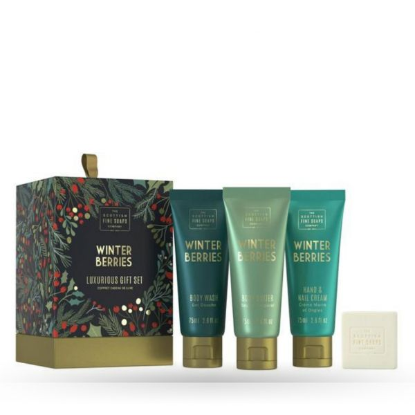 Scottish Fine Soaps Pack Winter Berries