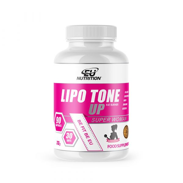 EU Nutrition Lipo Tone Up Super Woman 90 cápsulas