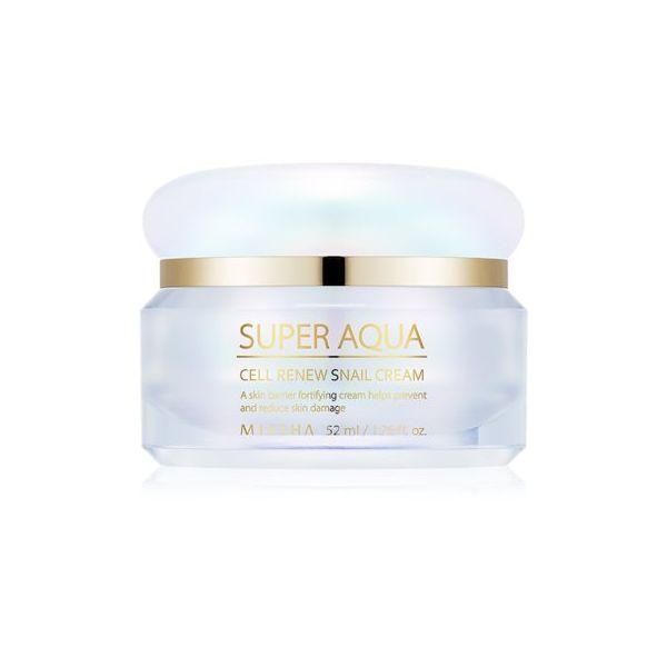 Missha Super Aqua Cell Renew Snail Creme de Dia Reafirmante 52ml