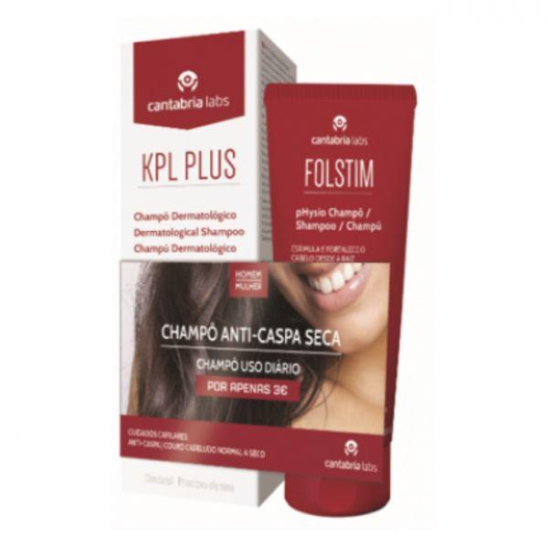 KPL Plus Shampoo Anti-Caspa 200ml + Folstim Physio 200ml