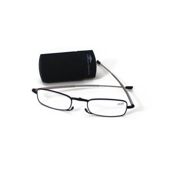 Premium Eyewear Óculos Pré Graduados de Leitura Dobráveis Modelo Rm 353005 - 2.5 Dioptrias