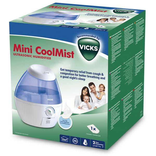 Vicks Cool Mist Mini Humidificador VUL520