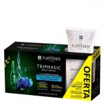 René Furterer Triphasic Reactional 12x5ml + Shampoo Anti-Queda 100ml