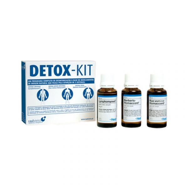 Heel Detox-Kit - Lymphomyosot + Nux vomica + Berberisde
