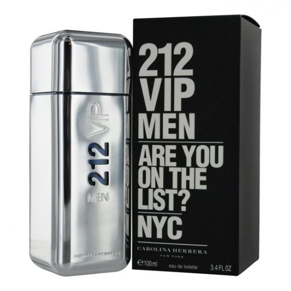 f60944ec2f Perfume Homem Carolina Herrera 212 Vip Men EDT 100ml - KuantoKusta