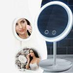 Espelho com luz LED e Ventoinha - 068-473:07218