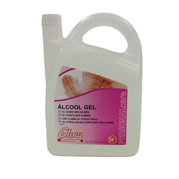 Glow Professional Álcool Gel 5L