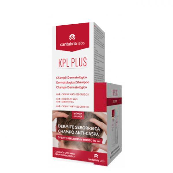 KPL Plus Shampoo Anti-Caspa 200ml + Gel Creme Rosto 10ml