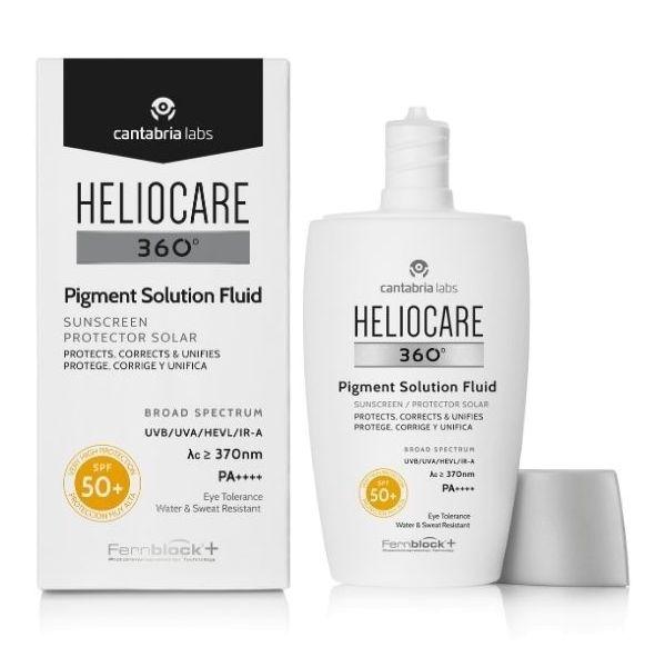 Protetor Solar Heliocare 360 Pigment Solution Fluido SPF50+ 50ml