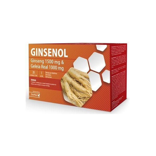 Dietmed Ginsenol 20 ampolas 15ml