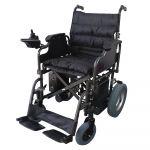 Mobiclinic Cadeira de Rodas Elétrica Económica Aço Dobrável Preto Cenit