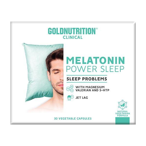 Gold Nutrition Melatonin Power Sleep 30 cápsulas