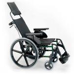 Sunrise Cadeira de Rodas Manual Breezy Premium Encosto Reclinável