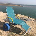 Cadeira de Rodas de Praia Oceanic Sun