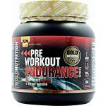 Gold Nutrition Pre Workout Endurance Sabor Frutos Tropicais 300g